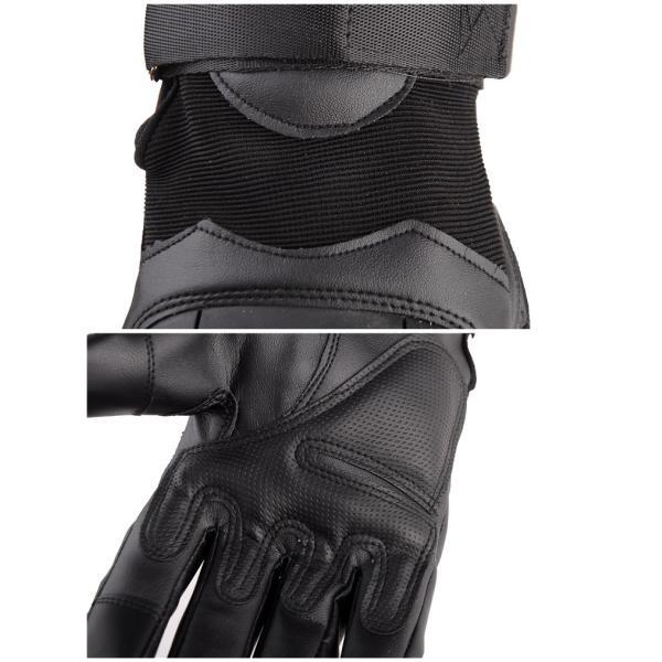 バイク グローブ 手袋 グローブ スマホ バイク用手袋 タッチパネル対応 簡単着脱 アウトドア 自転車 登山 キャンプ サイクリング 滑り止め付|vastmart|10