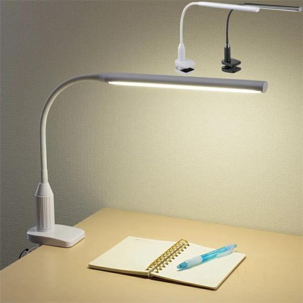 デスクライト LED  クランプ式 卓上ライト デスクスタンド クランプライト LED おしゃれ 電気スタンド LED 卓上 目に優しい 寝室