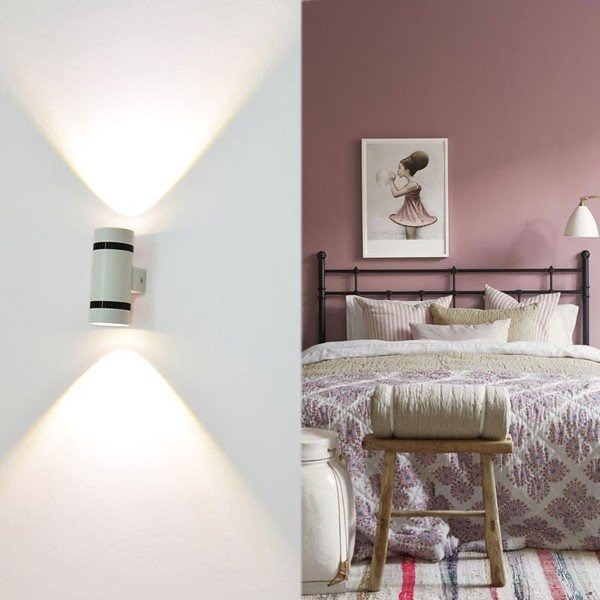 LEDウォールライト 室内インテリア照明 6W 壁取り付け用ライト室内インテリア 照明器具 ベッドサイドランプ 壁掛け照明led壁灯 高輝度 柔らか 高品質 低消費電力|vastmart