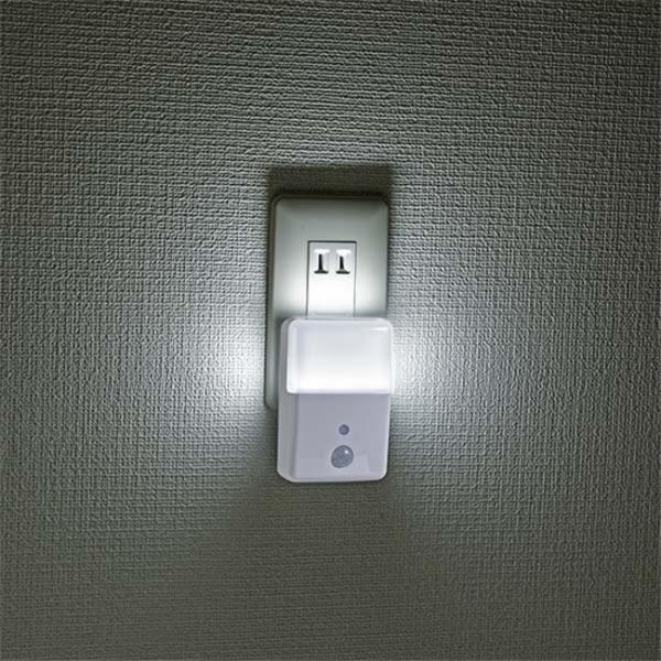 LEDナイトライト コンセント リモコン付き 足元灯 長寿命 省電力 屋内用 2段階調光 簡単操作 LEDライト 白色 橙色 照明器具|vastmart|02