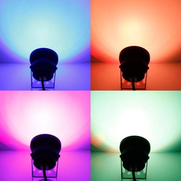 丸型投光器 LEDスポットライト IP65 10W DC 12V  RGB LEDライト 照明 人気 直流|vastmart|03