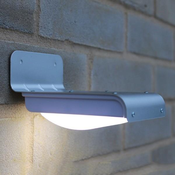 LEDセンサーライト 屋外 ソーラー 人感センサー 自動点灯 LEDソーラー 明るさセンサー ソーラーライト ソーラー充電 照明 人気 照明器具|vastmart