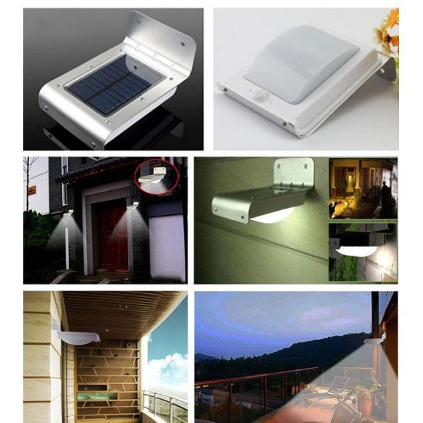 LEDセンサーライト 屋外 ソーラー 人感センサー 自動点灯 LEDソーラー 明るさセンサー ソーラーライト ソーラー充電 照明 人気 照明器具|vastmart|02