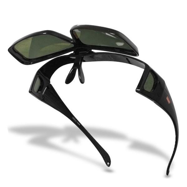 コールマン Coleman オーバーグラス サングラス 跳ね上げタイプ 眼鏡の上から装着できる 偏光レンズ 偏光サングラス 父の日 プレゼント|vastmart|06