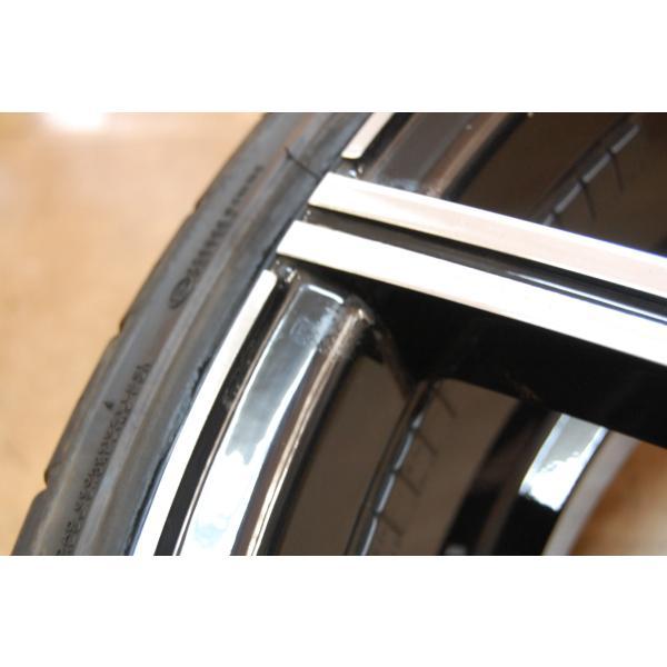 中古 レクサーニ 22インチ ホイール タイヤ セット 4本 マセラティ グランカブリオ LEXANI GRAVITY 9J 10J 114.3 ve1 10