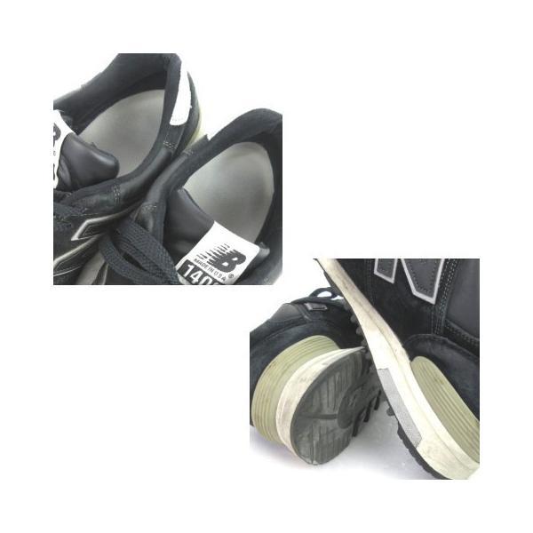 【中古】ニューバランス NEW BALANCE スニーカー M1400BKS スエード 黒 ブラック 27 シューズ 靴 メンズ 【ベクトル 古着】|vectorpremium|06