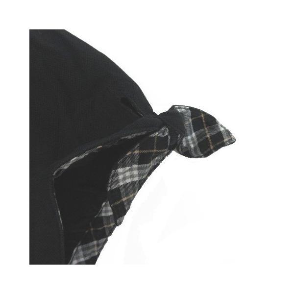 【中古】バーバリーブルーレーベル BURBERRY BLUE LABEL ポロシャツ 半袖 パフスリーブ リボン 38 黒 ブラック  レディース 【ベクトル 古着】|vectorpremium|04