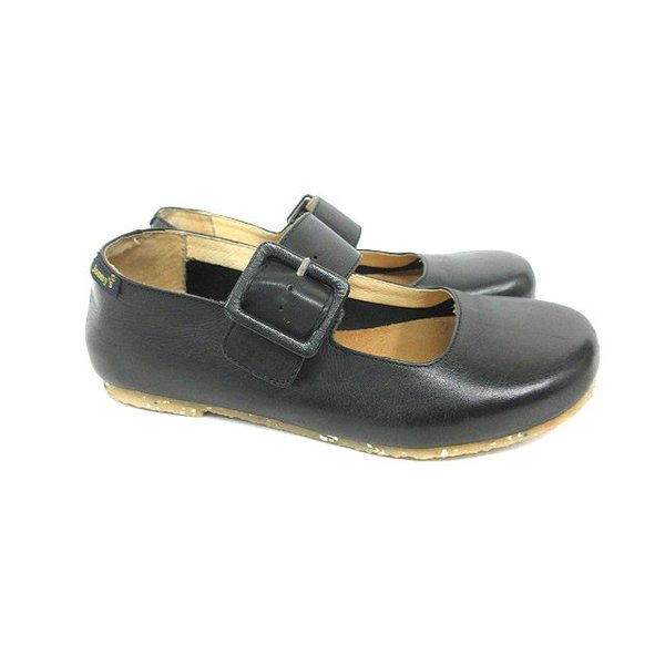 jonny's フラットシューズ 靴 ブラック 黒 37 180607I レディース【中古】【ベクトル 古着】