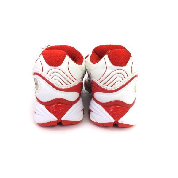 【中古】ディアドラ DIADORA スニーカー シューズ スピードプロWI5 III SG メッシュ 白 赤 スポーツ テニス 24 靴 メンズ レディース 【ベクトル 古着】|vectorpremium|03