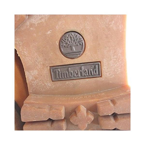 【中古】ティンバーランド Timberland 89975 M 8224 ロールトップ ブーツ レースアップ レザー ブラウン 茶 23 KY-190923 IBS9 レディース 【ベクトル 古着】|vectorpremium|03