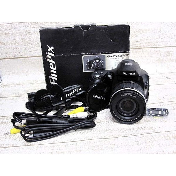 富士フィルム FUJIFILM デジタルカメラ ファインピックス FinePix S6000fd FX-S6000 ジャンク ■180606NM-9305B【中古】【ベクトル 古着】