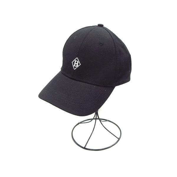 中古 未使用品グレイルGRLキャップストラップバックコットン帽子黒ブラックレディース ベクトル古着
