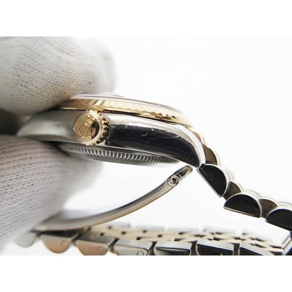 【中古】ロレックス ROLEX DATE JUST OYSTER PERPETUAL デイトジャスト 10Pダイヤ コンビ PG SS 自動巻き 腕時計 179171中古■190705 6000 レディース|vectorpremium|07