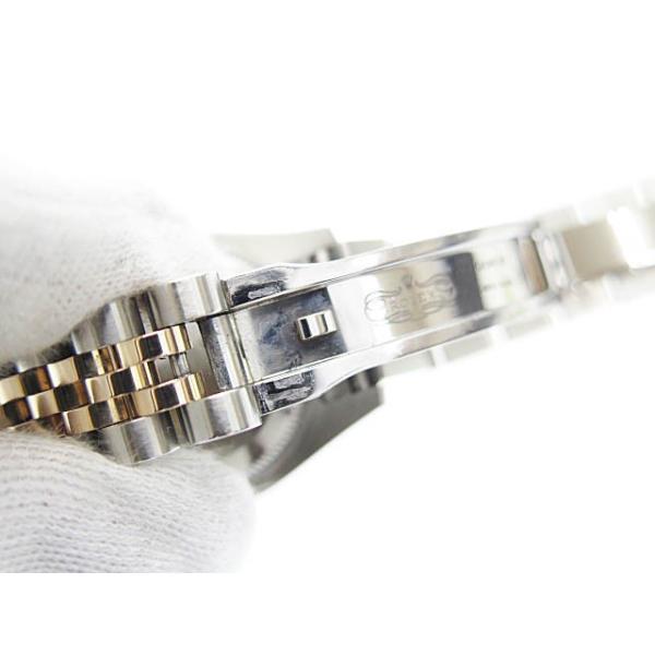 【中古】ロレックス ROLEX DATE JUST OYSTER PERPETUAL デイトジャスト 10Pダイヤ コンビ PG SS 自動巻き 腕時計 179171中古■190705 6000 レディース|vectorpremium|09