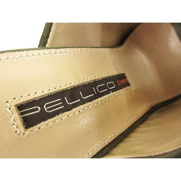 ペリーコ PELLICO SUNNY サンダル ウェッジ サボ スエード PY17-0911 ANTE オープントゥ ミュール 37 カーキ S4977 EMD1  レディース【ベクトル】