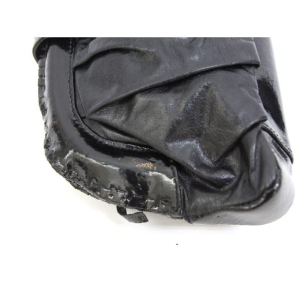 アナザーエディション ANOTHER EDITION CROIX アローズ クラッチバッグ パーティバッグ レザー 黒 ブラック 鞄 /Z レディース【中古】【ベクトル 古着】