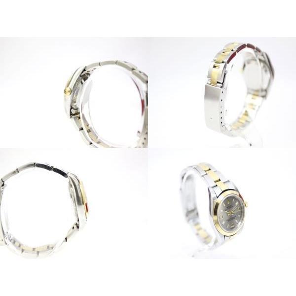【中古】ロレックス ROLEX オイスターパーペチュアル K番 76183 イエローゴールド ステンレス コンビ 腕時計 /Z レディース 【ベクトル 古着】 vectorpremium 03