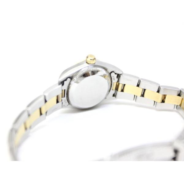 【中古】ロレックス ROLEX オイスターパーペチュアル K番 76183 イエローゴールド ステンレス コンビ 腕時計 /Z レディース 【ベクトル 古着】 vectorpremium 05