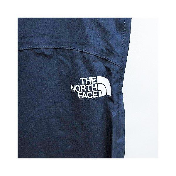 【中古】ザノースフェイス THE NORTH FACE NPW11520 レインテックス エアロ ナイロン パンツ ウエストゴム L 紺 ネイビー系 レディー|vectorpremium|05