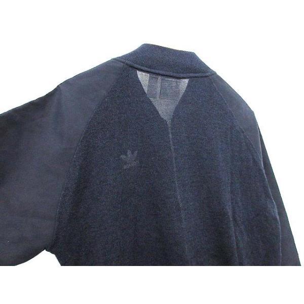 アディダスオリジナルス adidas originals トラックジャケット スーパースター ライン ジャージ T ネイビー /☆G レディース【中古】【ベクトル 古着】|vectorpremium|05