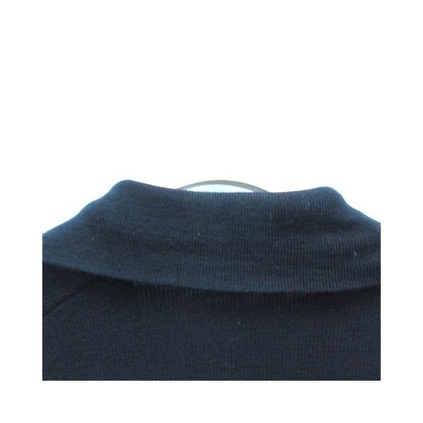 【中古】バーバリーブルーレーベル BURBERRY BLUE LABEL ニット ジャケット ジップアップ ウール 長袖 38 黒 ブラック /MR レディース 【ベクトル 古着】 vectorpremium 04