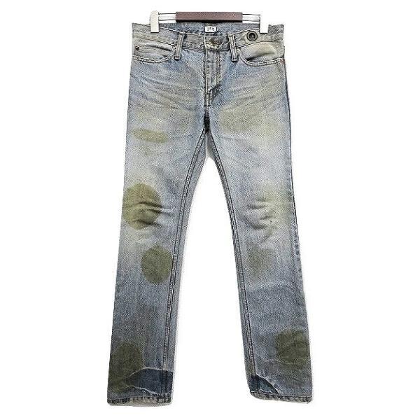 【中古】ルグランブルー L.G.B 汚れ加工 デニムパンツ 25 インディゴブルー 綿 コットン100% 日本製 ボトムス ジーンズ ズボン メンズ【ベクトル 古着】|vectorpremium