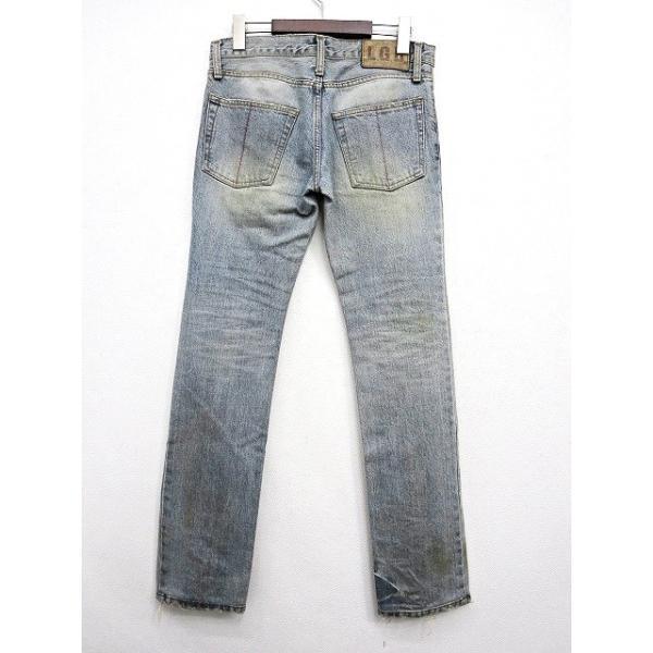 【中古】ルグランブルー L.G.B 汚れ加工 デニムパンツ 25 インディゴブルー 綿 コットン100% 日本製 ボトムス ジーンズ ズボン メンズ【ベクトル 古着】|vectorpremium|02