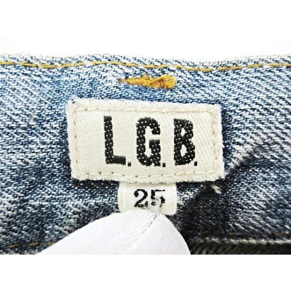 【中古】ルグランブルー L.G.B 汚れ加工 デニムパンツ 25 インディゴブルー 綿 コットン100% 日本製 ボトムス ジーンズ ズボン メンズ【ベクトル 古着】|vectorpremium|03