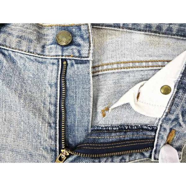 【中古】ルグランブルー L.G.B 汚れ加工 デニムパンツ 25 インディゴブルー 綿 コットン100% 日本製 ボトムス ジーンズ ズボン メンズ【ベクトル 古着】|vectorpremium|04