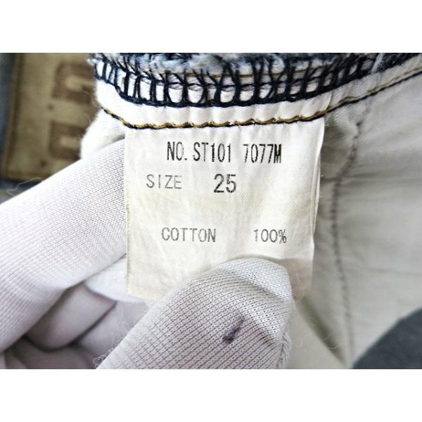 【中古】ルグランブルー L.G.B 汚れ加工 デニムパンツ 25 インディゴブルー 綿 コットン100% 日本製 ボトムス ジーンズ ズボン メンズ【ベクトル 古着】|vectorpremium|06