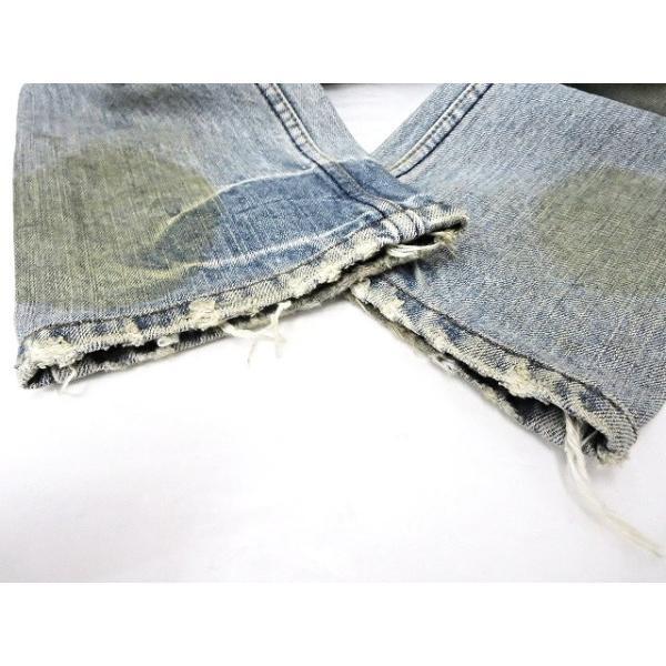 【中古】ルグランブルー L.G.B 汚れ加工 デニムパンツ 25 インディゴブルー 綿 コットン100% 日本製 ボトムス ジーンズ ズボン メンズ【ベクトル 古着】|vectorpremium|08