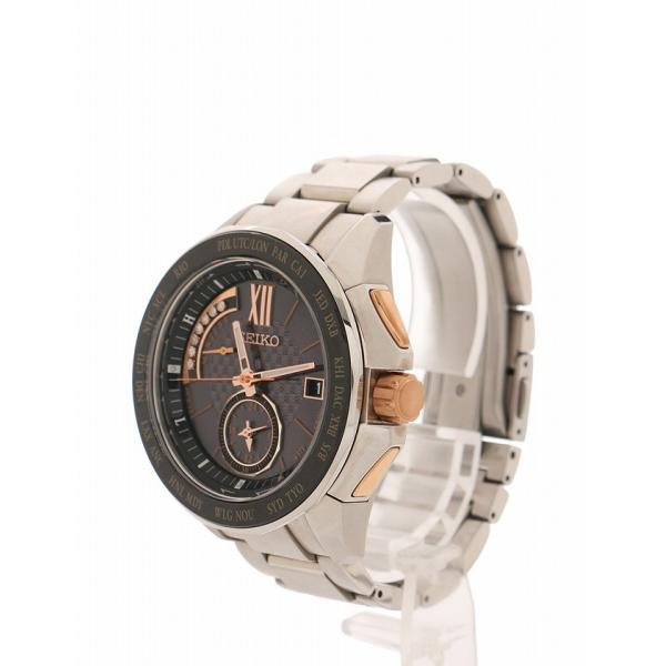 check out cdab8 c61b9 セイコー SEIKO 箱 腕時計 ブライツ シルバー 黒 ステンレス ...