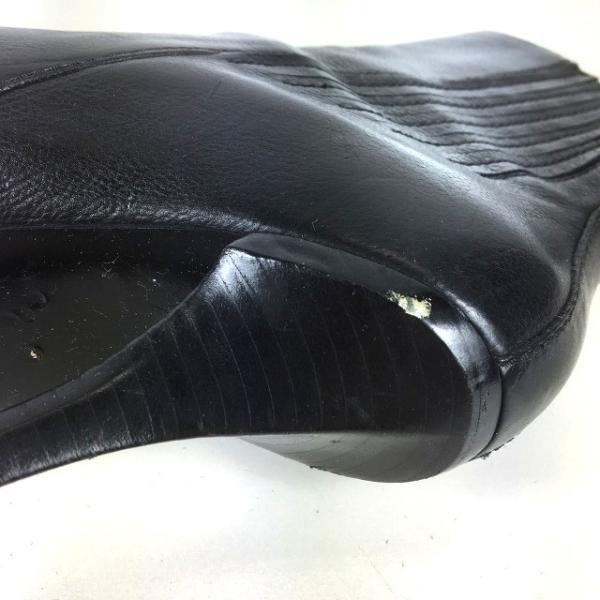 アレキサンダーワン ALEXANDER WANG サイドゴアブーツ ハイヒール 靴 レザー 37 ブラック 黒 秋冬 レディース【中古】【ベクトル 古着】