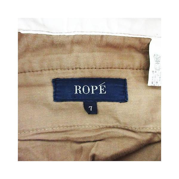 ロペ ROPE パンツ ボトムス チノパン ストレート 7 ベージュ ※EKM レディース 【中古】【ベクトル 古着】|vectorpremium|03