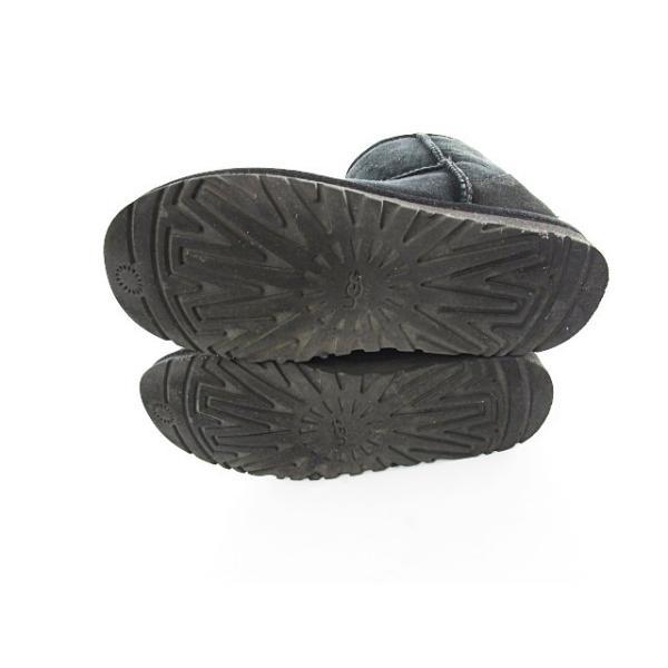 アグ オーストラリア UGG australia ムートン ブーツ ショート 裏ボア 22 黒 ブラック 5852 メンズ【ベクトル 】