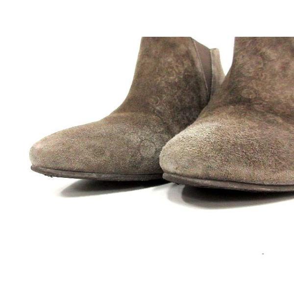 マリアン MARIAN ブーツ ブーティ スエード ピンヒール 36 茶 /YI44 ●D レディース【中古】【ベクトル 古着】