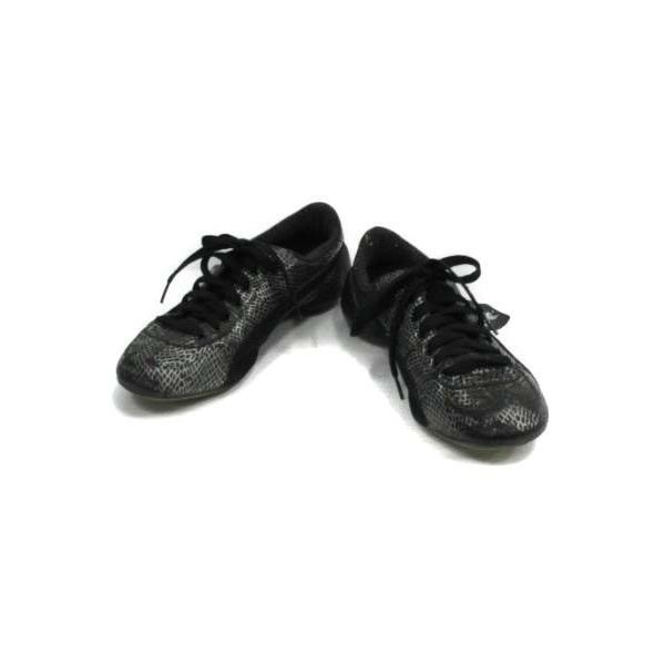 プーマ PUMA シューズ トレーニング サッカー 総柄 28 黒 ブラック /TC12 メンズ【中古】【ベクトル 古着】|vectorpremium|02