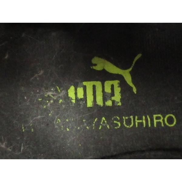 プーマ PUMA シューズ トレーニング サッカー 総柄 28 黒 ブラック /TC12 メンズ【中古】【ベクトル 古着】|vectorpremium|06
