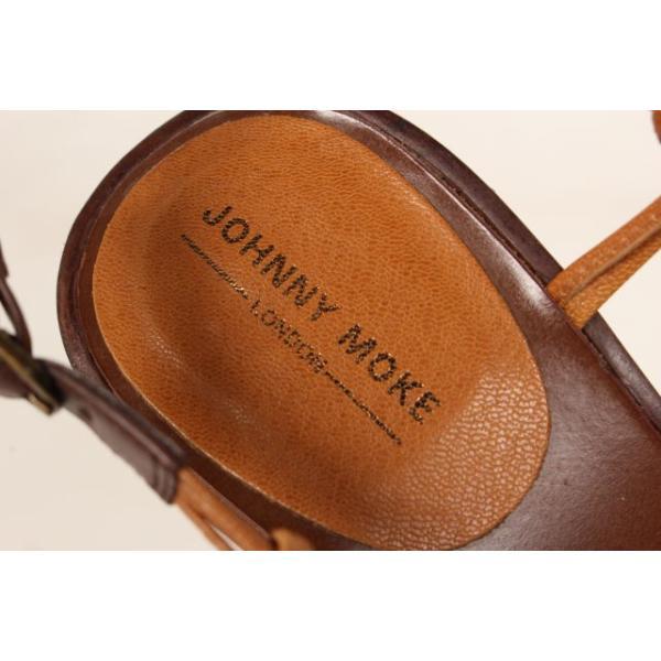 ジョニーモーク JOHNNY MOKE サンダル ウエッジソール ストラップ 36 茶 ブラウン /fy0522 レディース 【中古】【ベクトル 古着】|vectorpremium|05