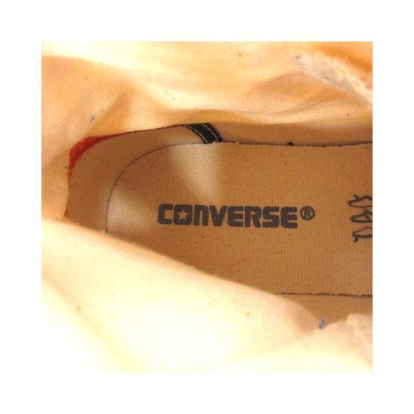 【中古】コンバース CONVERSE ALL STAR SURFSHIRTS HI スニーカー ハイカット 総柄 24.5cm ベージュ 1CJ623 /YI10 レディース 【ベクトル 古着】 vectorpremium 07