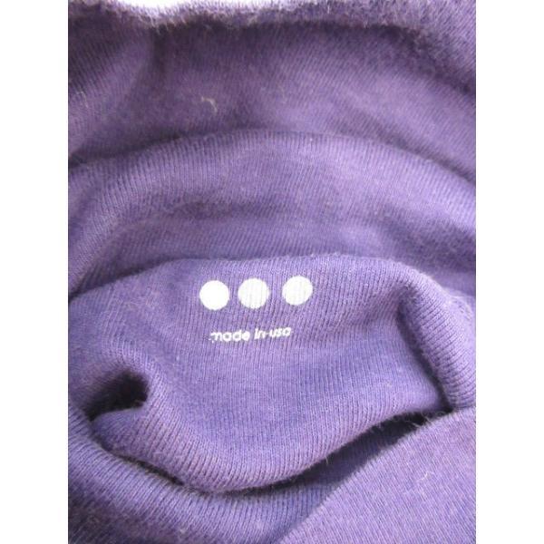 スリードッツ three dots カットソー タートルネック 長袖 紫 パープル /RK17 レディース【中古】【ベクトル 古着】|vectorpremium|06