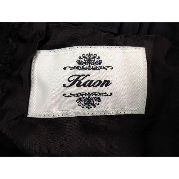 カオン Kaon パンツ ショート ショーパン レース F 黒 ブラック /M2 レディース【中古】【ベクトル 古着】|vectorpremium|06