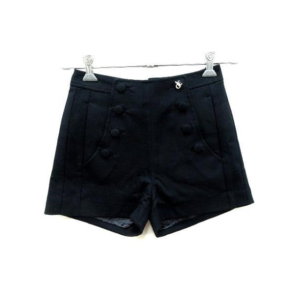 ジュールドランゲージ JOUR DE LANGUAGE パンツ ショート 36 黒 ブラック /AU レディース 【中古】【ベクトル 古着】