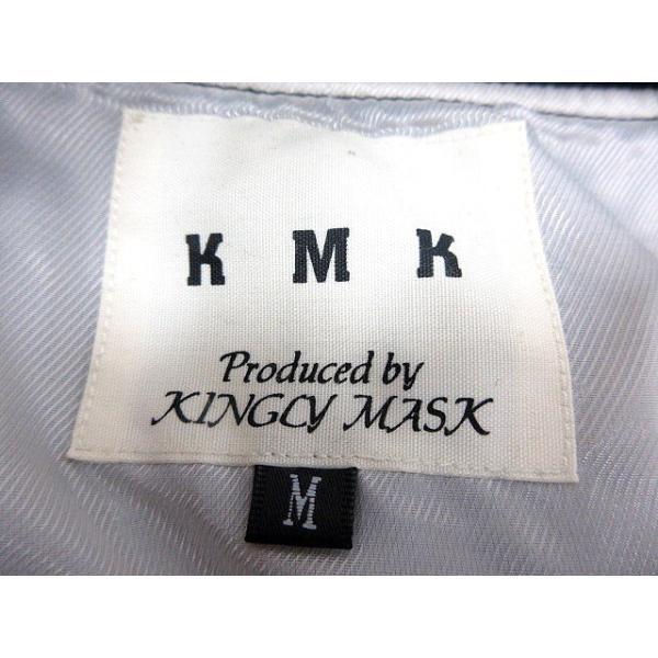【中古】キングリーマスク KMK KINGLY MASX ジャケット ハイネック 総裏地 M 黒 ブラック /MN メンズ 【ベクトル 古着】|vectorpremium|05