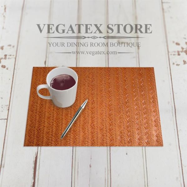 ランチョンマット ビニールレザー アジアン おしゃれで扱いやすい VEGATEX メッシュブレイド vegatex-store 02
