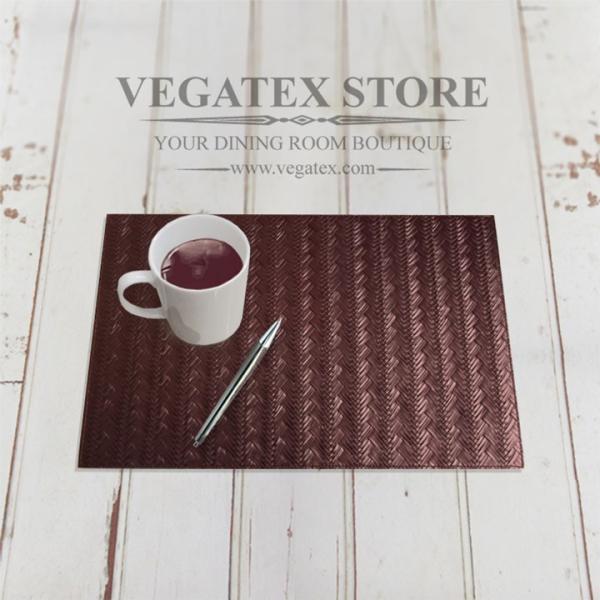 ランチョンマット ビニールレザー アジアン おしゃれで扱いやすい VEGATEX メッシュブレイド vegatex-store 03