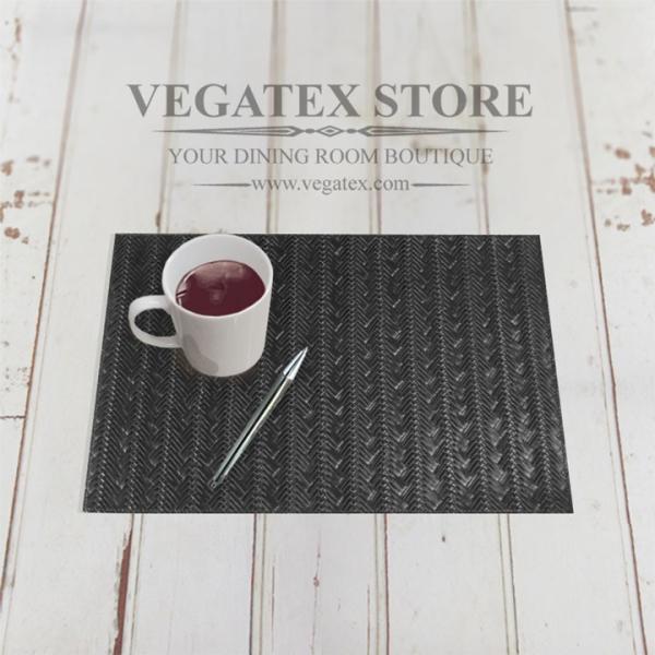 ランチョンマット ビニールレザー アジアン おしゃれで扱いやすい VEGATEX メッシュブレイド vegatex-store 04
