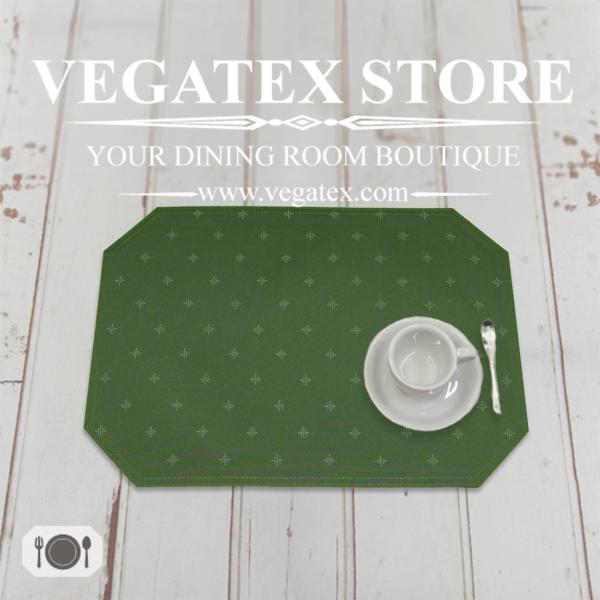 ランチョンマット 撥水 布 VEGATEX スターダストGN 33×45cm vegatex-store