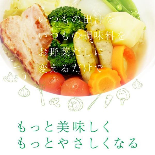 だし 出汁 野菜だし 野菜出汁 だしパック 野菜 国産野菜 九州野菜 味噌汁 鍋料理 パスタ 野菜出汁35g7g10パック|vegeko|04