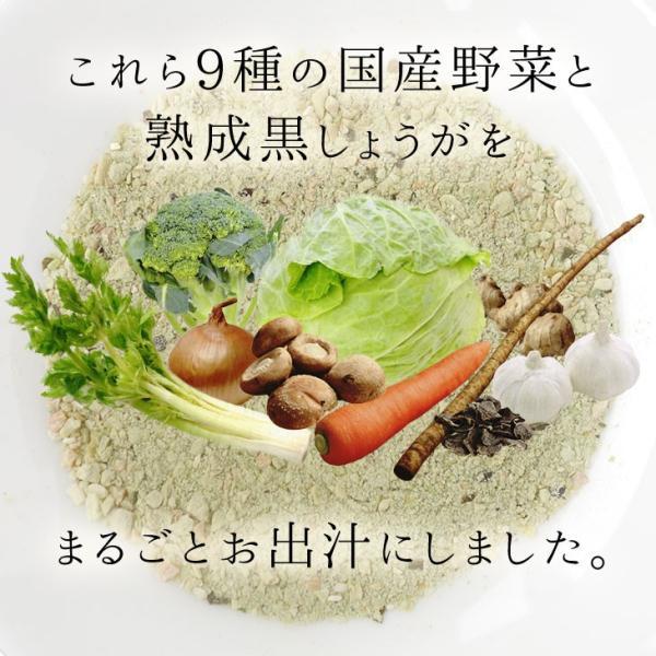 だし 出汁 野菜だし 野菜出汁 だしパック 野菜 国産野菜 九州野菜 味噌汁 鍋料理 パスタ 野菜出汁35g7g10パック|vegeko|10